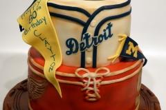 Vintage Sports Cake sm