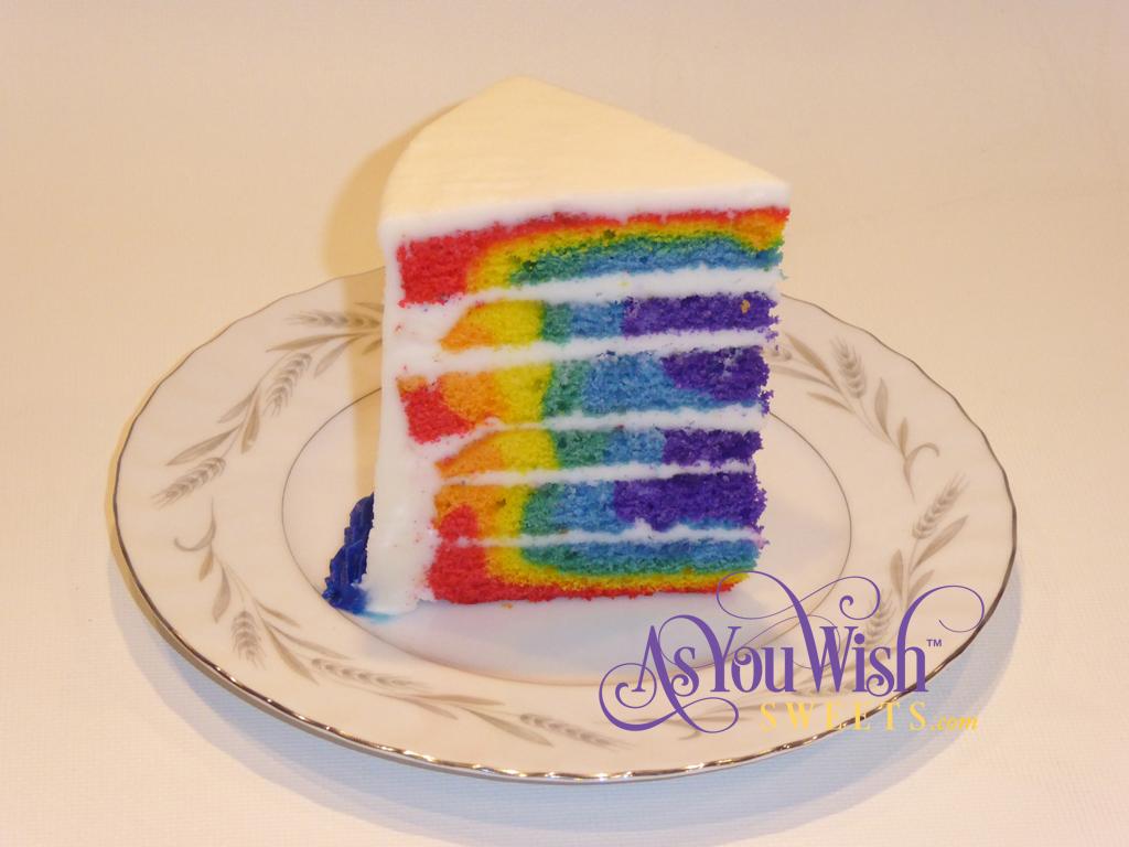 Rainbow cake sm
