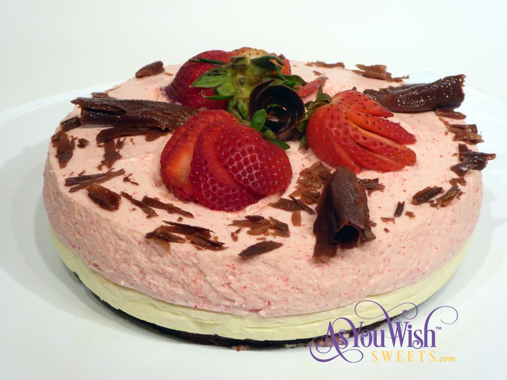 Neapolitan Mousse Cake sm
