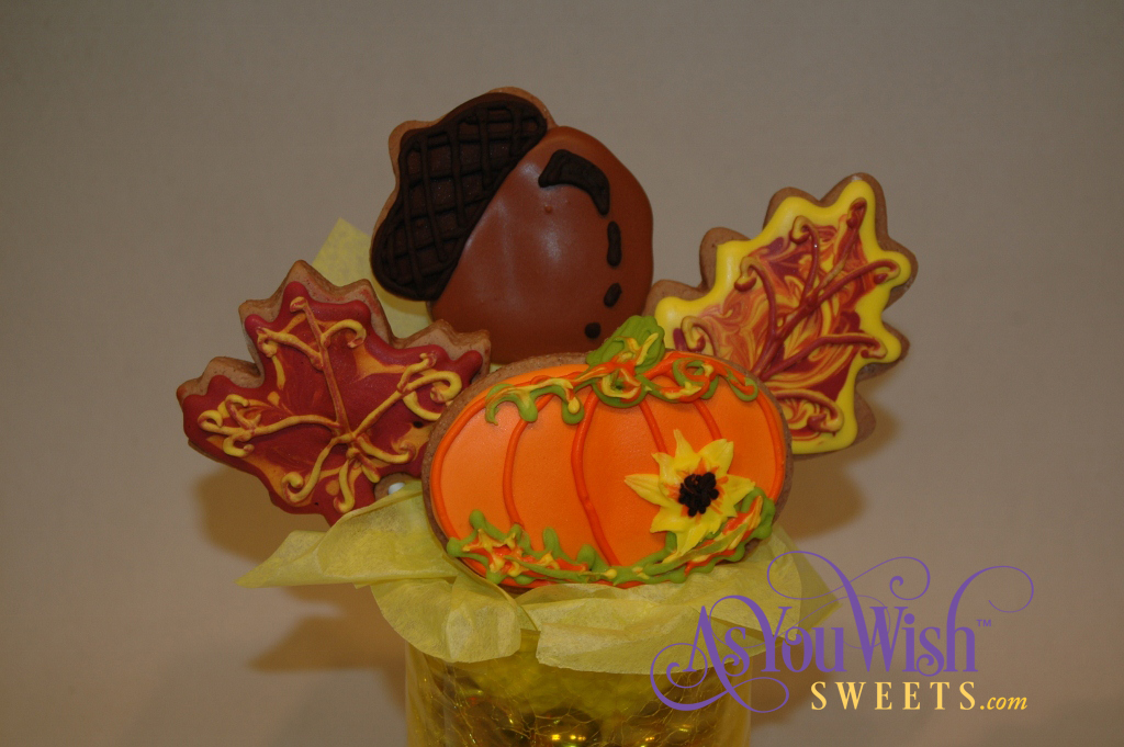 sm fall cookie bouquet closeup (1024x681)