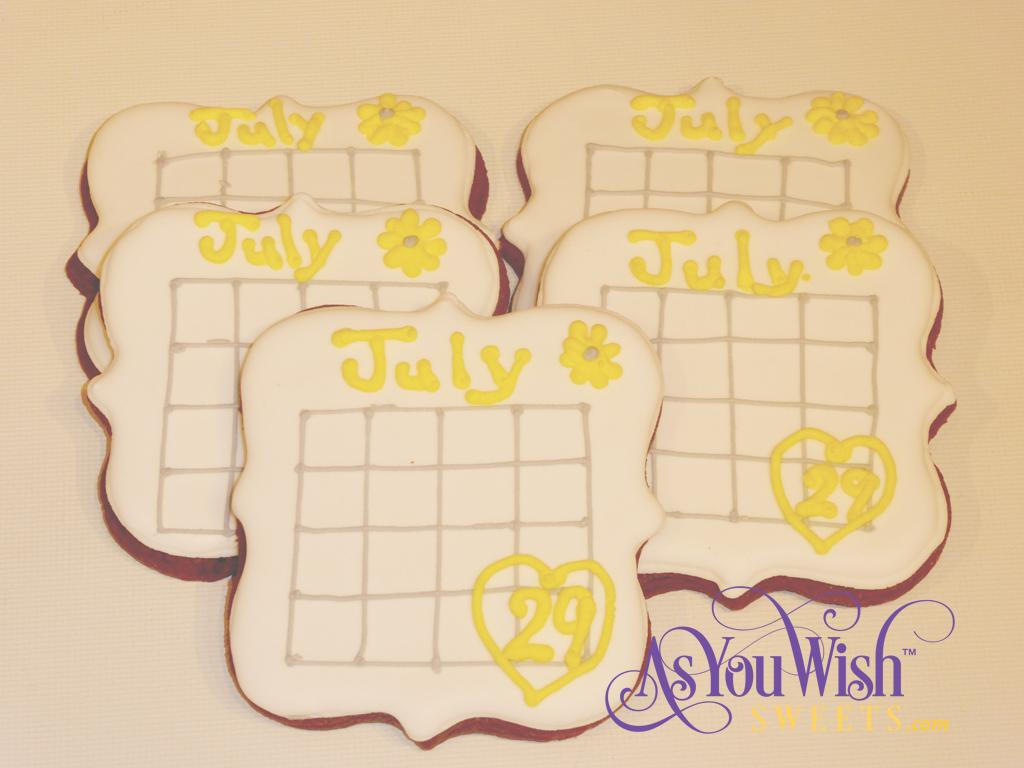 Bridal Invite Calendars sm