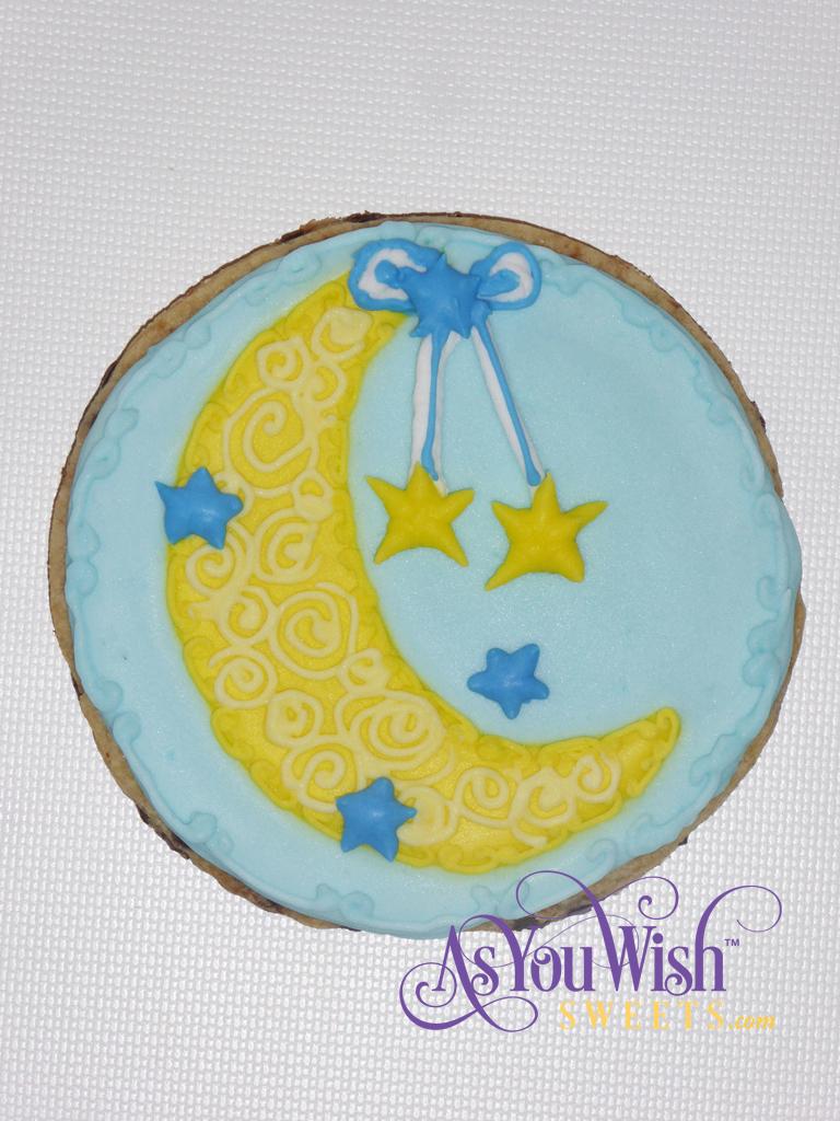 Elaborate Moon hanging Stars sm