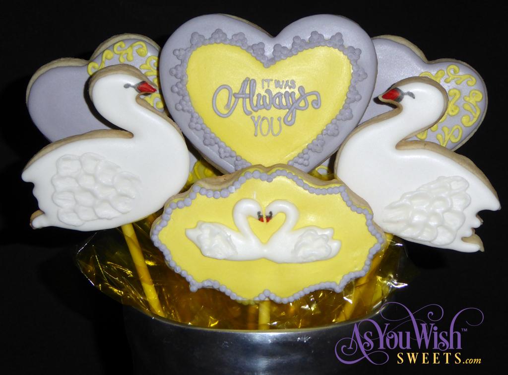 Swan Cookies sm