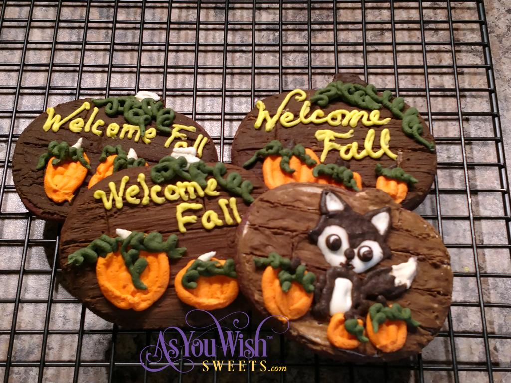 Wooden pumpkin sm