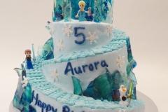 Auroras 5th birthday Cake sm
