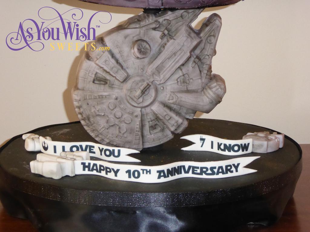 10th Anniversary Cake Falcon sm