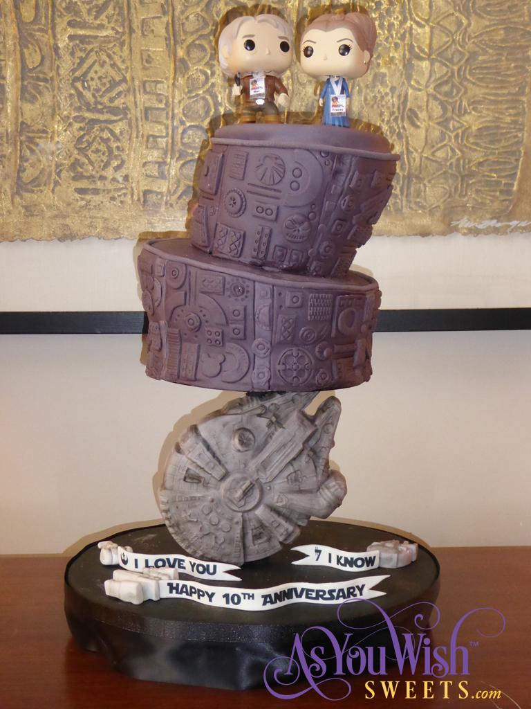 10th Anniversary Cake sm