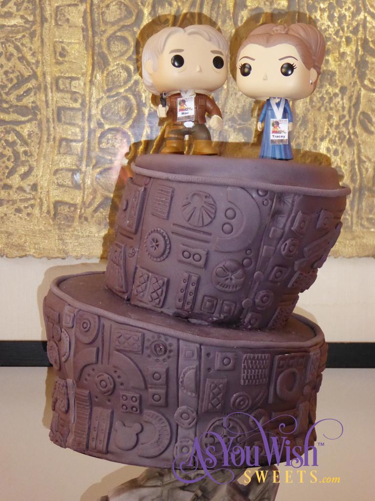 10th Anniversary Cake top sm