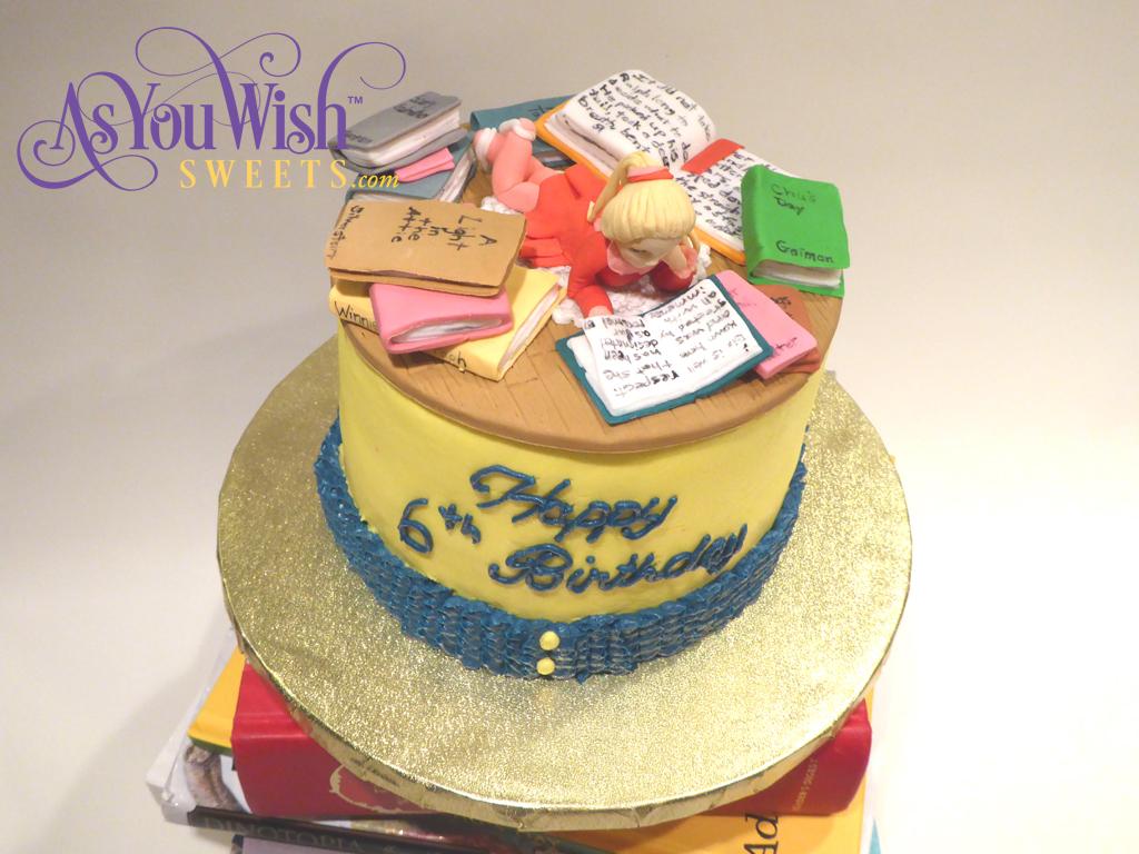 Aurora Reading Cake 3 sm