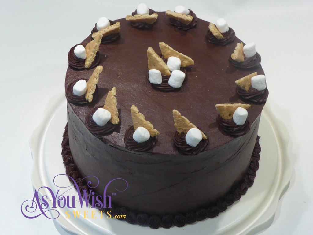 S'mores Cake sm