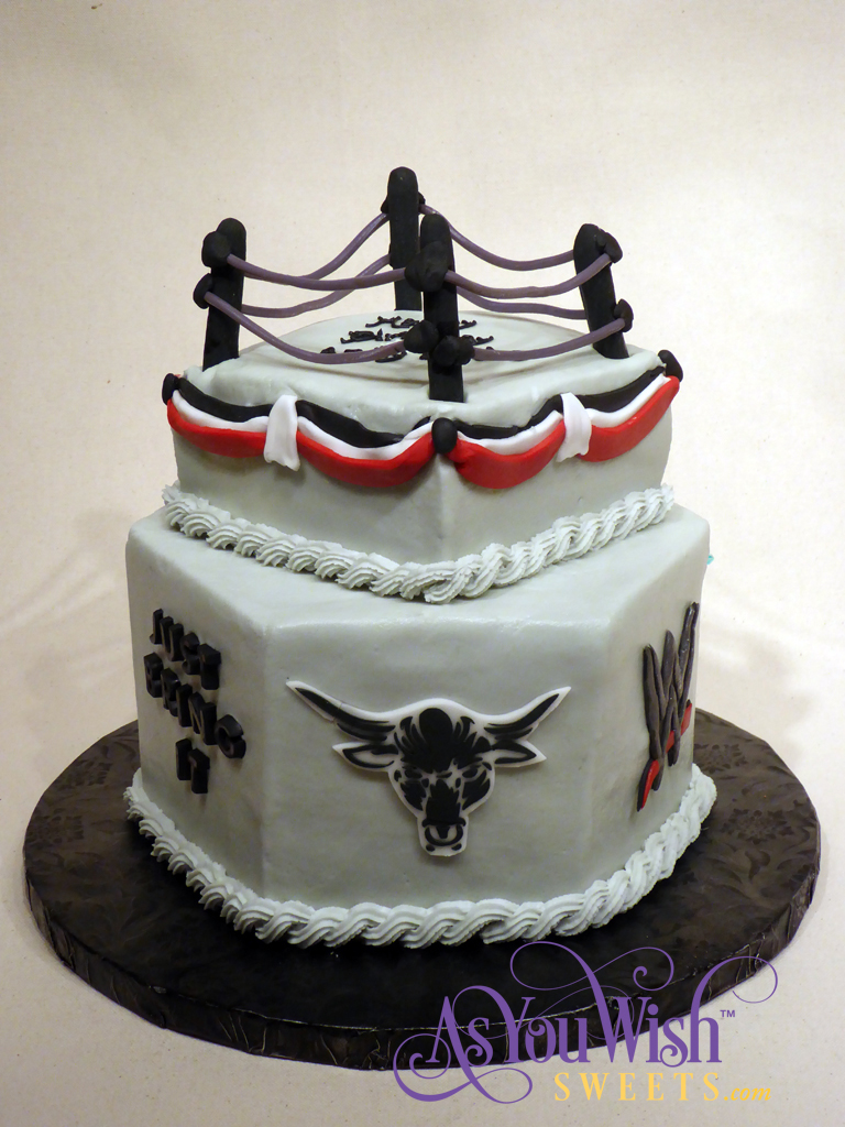 The Rock Birthday Cake sm