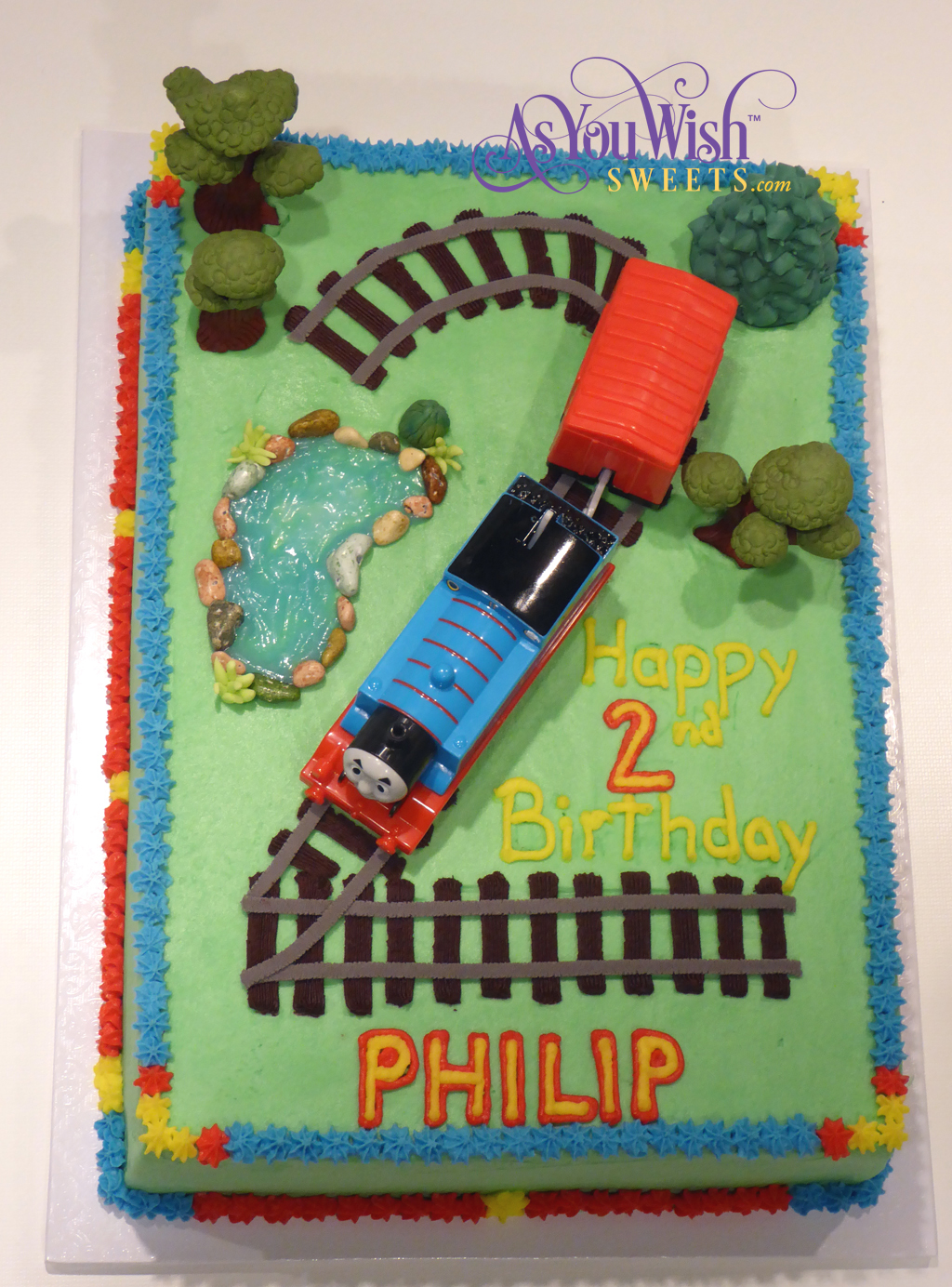 Thomas the Train Cake sm