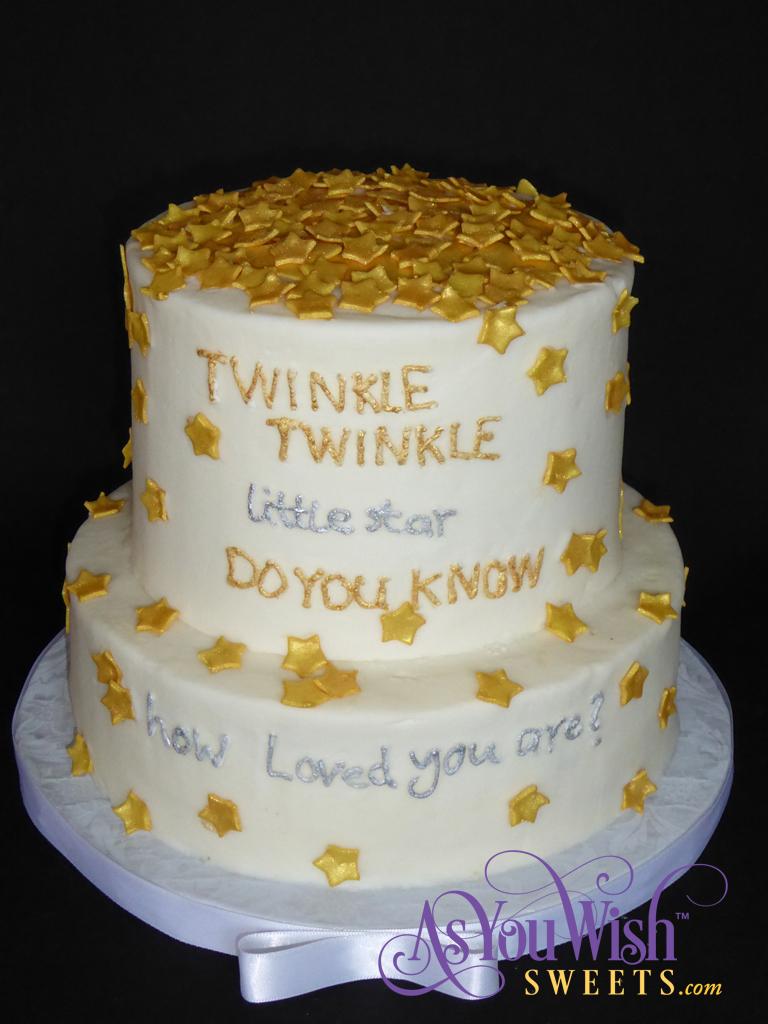 Twinkle Litte Star Cake sm
