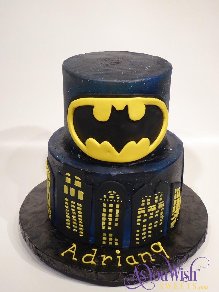 Batman Birthday Cake 2 sm