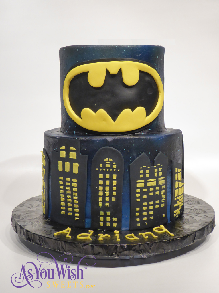 Batman Birthday Cake sm