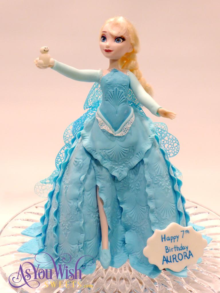 Elsa Cake 1 sm