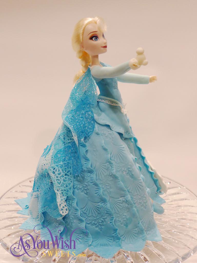 Elsa Cake 3 sm