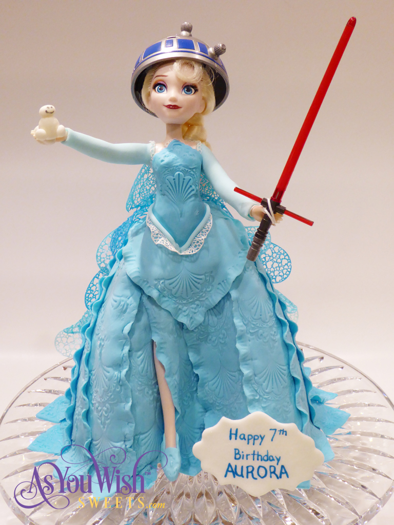 Elsa Star Wars sm