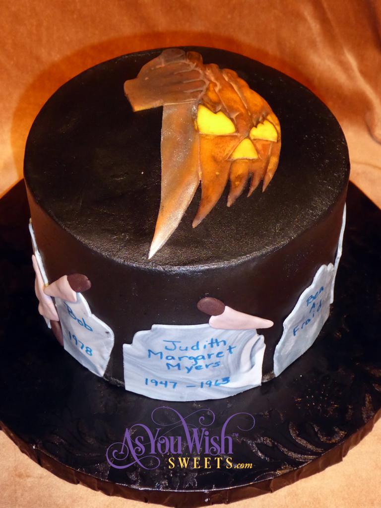 Halloween cake sm