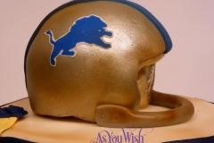 Vintage Lions Helmet sm