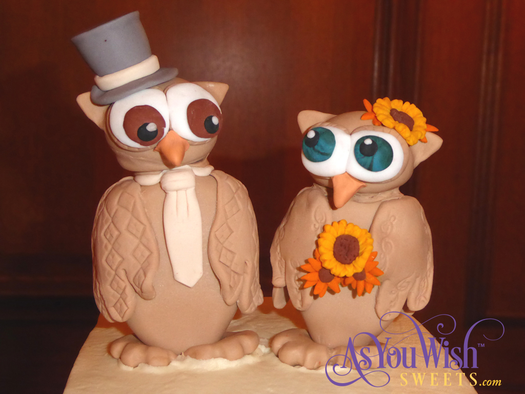Owl Cake Toppers sm