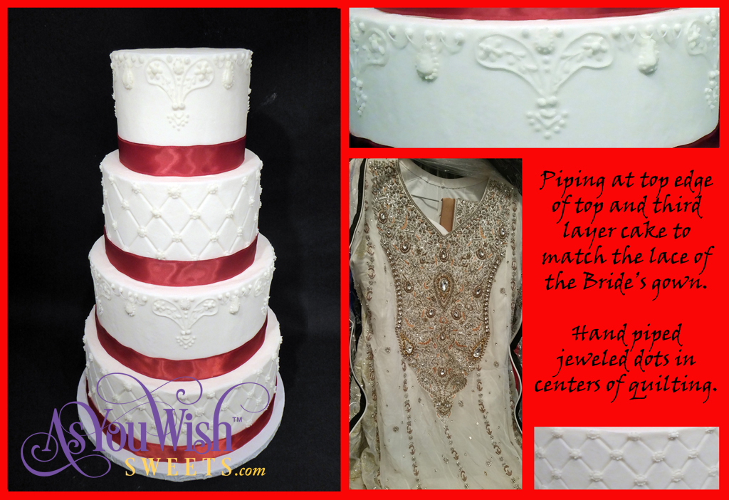 Quilted Bridal Lace Combo pic 2 sm