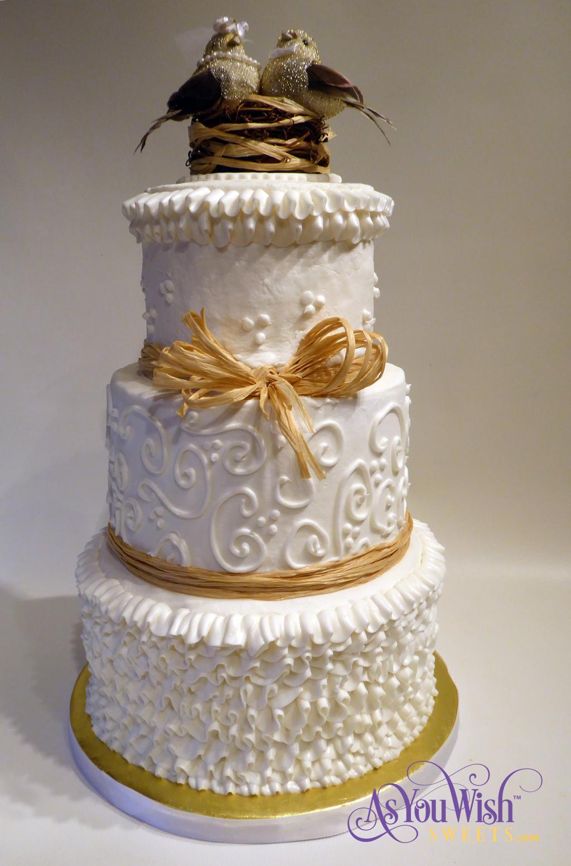 Rafia Wedding cake sm