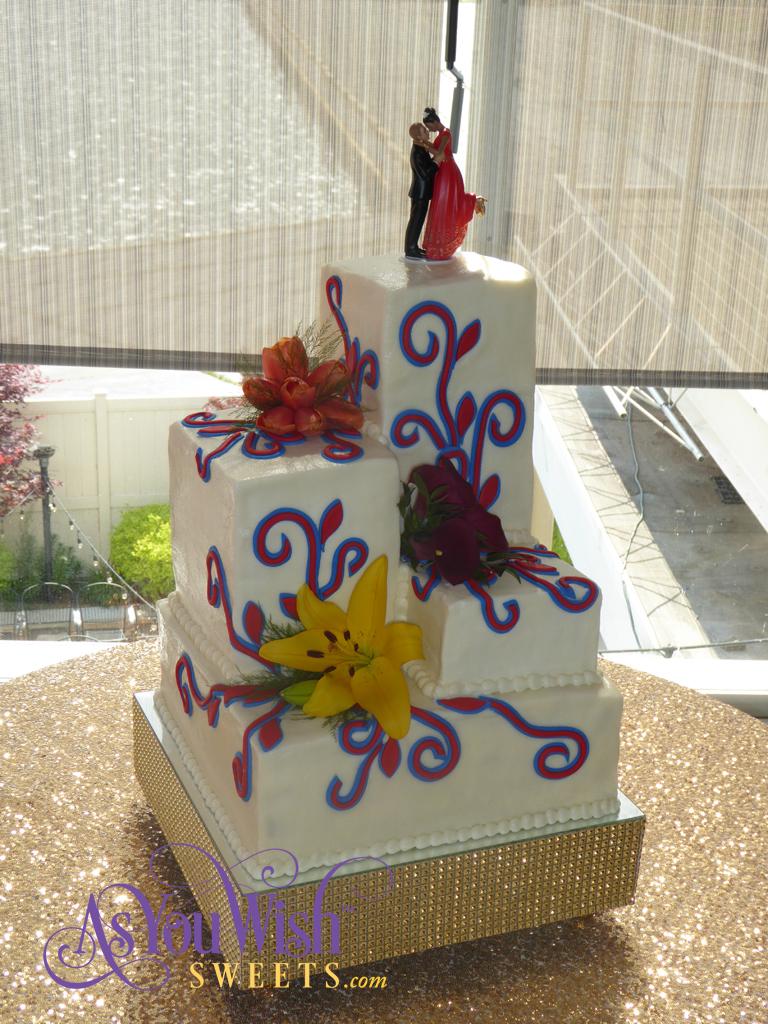 Towers Wedding Cake sm