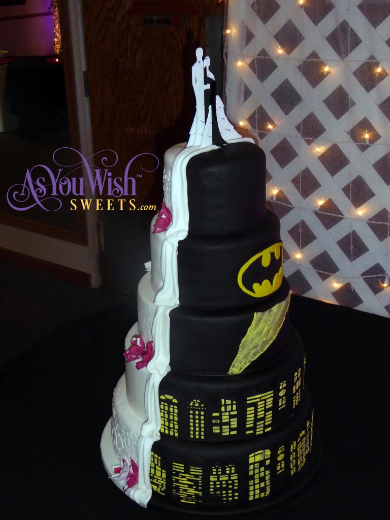 Double Sided Wedding Cake 2 sm