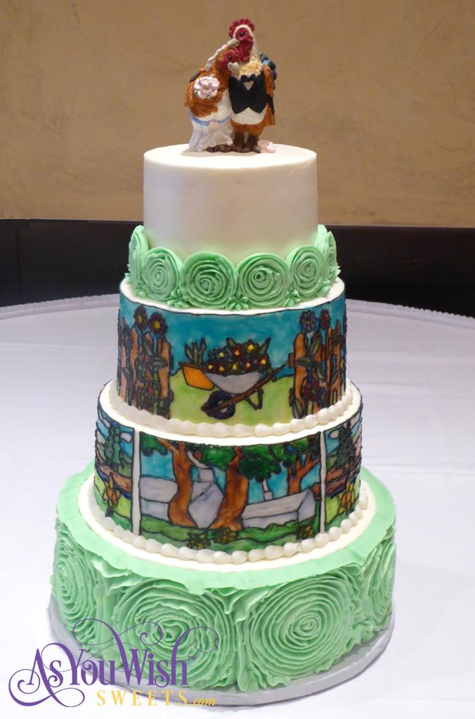 Homestead Wedding Cake sm