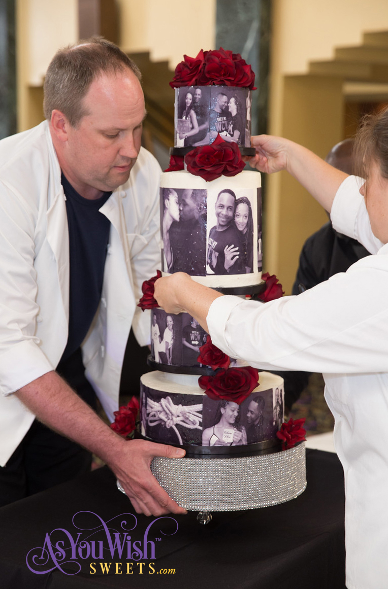 Moving The Cake
