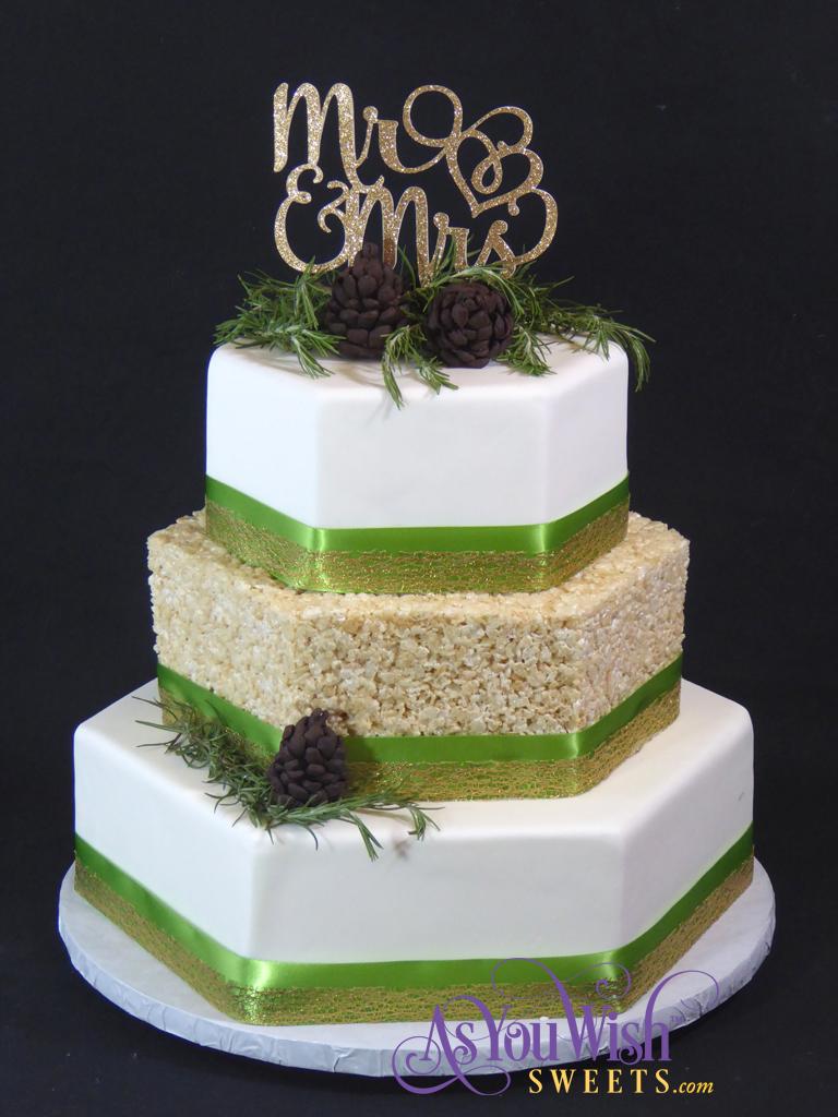 Pinecone RKT Wedding Cake sm