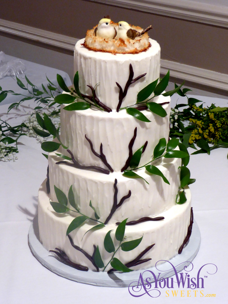 Rustic Wedding Cake sm