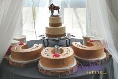 Horseshoes Wedding Cakes sm
