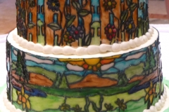 Landscape Stained Glass sm