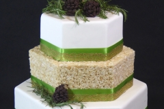 Pinecone RKT Wedding Cake sm